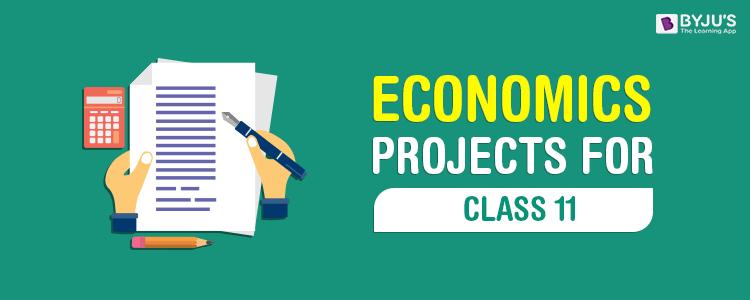 Economics Project for Class 11