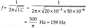 NCERT Solutions for Class 12 Physics Chapter 7 Alternating Current 20